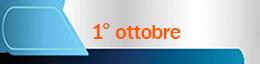 1 ottobre